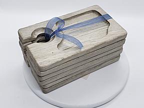 blue pine snack trays