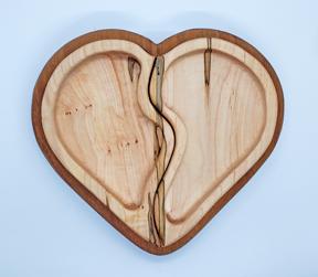 broken heart tray