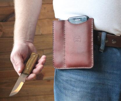 Mens hip wallet phone case