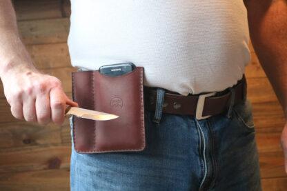 hip pouch case, belt clip wallet