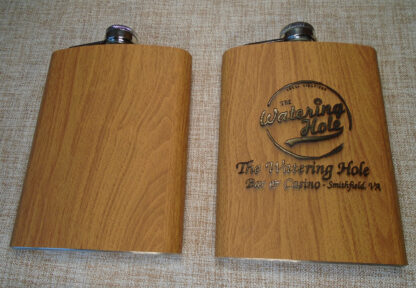 Wood Hip Flask
